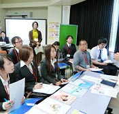 University of the Ryukyus holds Career Fair for international students