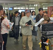 First charter flight from Seoul arrives on Miyako-jima