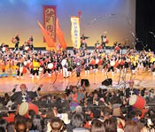 Ryukyukoku Matsuri Daiko commemorates 30th anniversary    