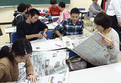 Ryukyu Shimpo and University of the Ryukyus start newspaper course