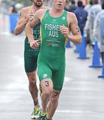 Ryan Fisher comes out top in the Ishigaki Triathlon World Cup