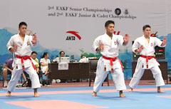 Okinawan karate men win at East Asian Senior Championship