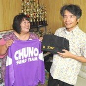 Boarding house owner supports sumo wrestler Chiyoo