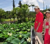 Tonan Botanical Garden resumes operation