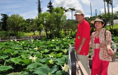 Tonan Botanical Garden resumes operation