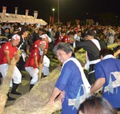 Kumejima tug-of-war, prayer for rain