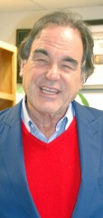 Film Director Oliver Stone urges Okinawans to wage nonviolent struggle