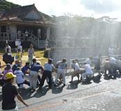 Prayer for rain comes true in Kumejima