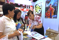 Okinawa Convention and Visitors Bureau takes part in Thai International Travel Fair 2013
