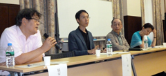Battle of Okinawa PTSD symposium held at Hitotsubashi University