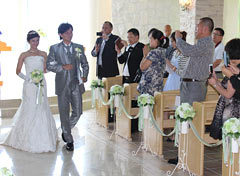 Okinawa hosts wedding industry delegation from China