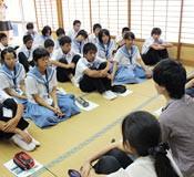 University of Tokyo students teach children in Iheya