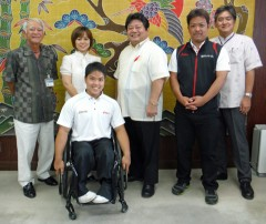 Kin Town resident to take part in Asian Youth Para Games