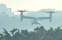 U.S.military completes deployment of more Osprey to Okinawa