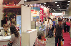 Okinawan companies take part in Japanese Food Fair in Singapore