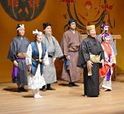 Ryukyu-Okinawa traditional arts group performs in Germany to promote Okinawa tourism