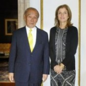 Okinawa governor asks new U.S. ambassador to reduce base burden on Okinawa