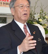 Naha Mayor Onaga comments on pressure from LDP for Henoko relocation