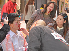 40 people turn into zombies in Okinawa City