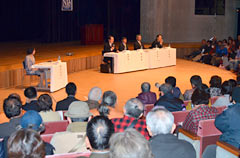 New Diplomacy Initiative hosts symposium on the Henoko issue at Nago