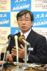 Re-elected Nago Mayor Inamine asserts he will prevent Futenma relocation to Henoko