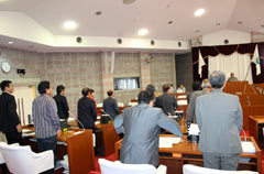 Nago Council adopts statement protesting against Governor's approval of Henoko landfill