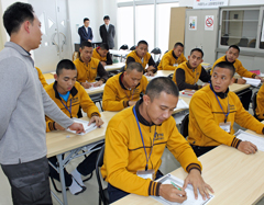 Okinawa accepts technical intern trainees from Indonesia