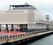 New cruise ship terminal building completed in Naha