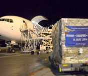 ANA begins cargo flights between Okinawa and Singapore