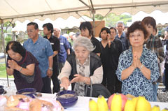 Davao statue memorial service held for the Okinawan war dead in Philippines