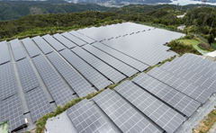 Orion Beer operating mega solar power plant