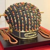 Royal Crown of the Ryukyu Kingdom exhibited at the Naha City Museum