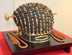 Royal Crown of the Ryukyu Kingdom exhibited at the Naha City Museum