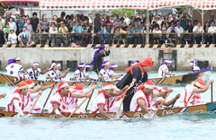 Itoman <em>Harley</em> dragon-boat race held