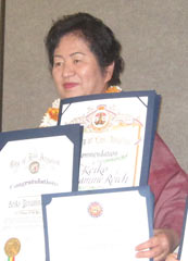 Japanese American organizations select Okinawan for 2014 Women of the Year Award