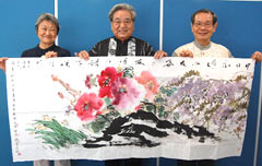 Fujian and Okinawan calligraphers have friendship and exchange