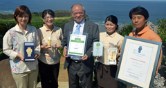 Salt company Nuchi-masu wins Monde Selection Grand Gold Medal for five consecutive years