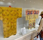 Special exhibition of royal costume held at Shurijo Castle