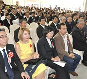 Ceremony for the 60th anniversary of Okinawan immigration to Bolivia held