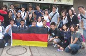 The World Youth <em>Uchinanchu</em> Festival held in Germany