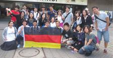 The World Youth <em>Uchinanchu</em> Festival held in Germany