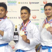 Okinawa team wins championship at Karate 1 Premier League