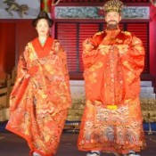 New Ryukyu king and queen selected at Shurijo Castle Park event