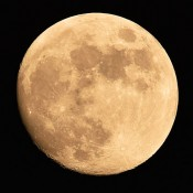 Miracle moon in Okinawa
