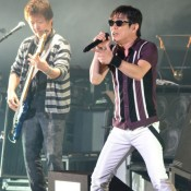 Japanese rock band The Boom performs final live show in Okinawa