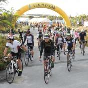Sugar Ride Kumejima cycling event held
