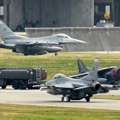 12 F-16 Fighting Falcon from Air National Guard base to Kadena Air Base