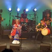 Rinken Band performs in Paris