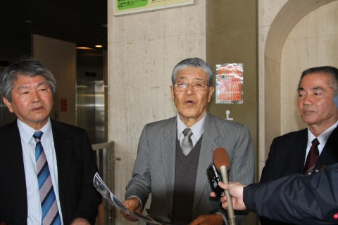 Nago City Assembly asks JCG to stop taking excessive actions against citizens