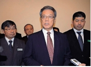 Okinawa Governor Onaga officially requests moving Futenma Air Station outside Okinawa